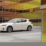 Hybridauto Lexus CT200h erhält Höchstwertung beim Euro NCAP Crashtest