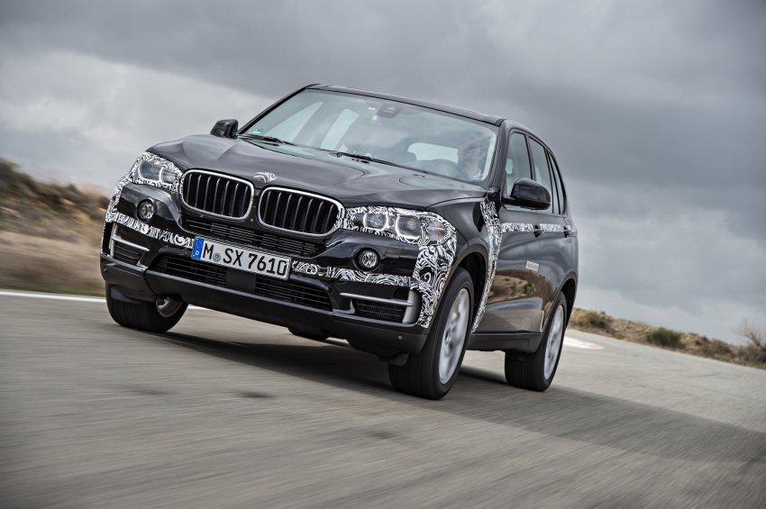 Plug-In Hybridauto BMW X5 eDrive kommt 2015 auf den Markt