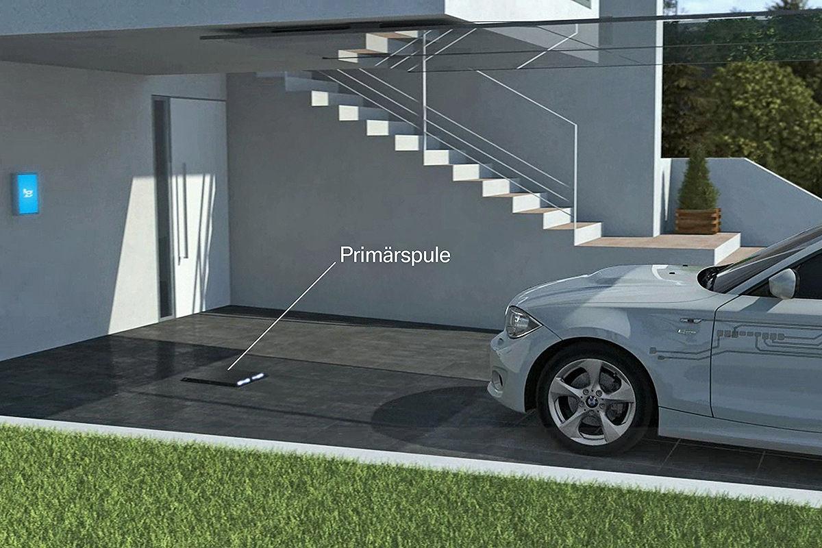 Daimler und BMW arbeiten am kabellosen Aufladen von Elektroautos