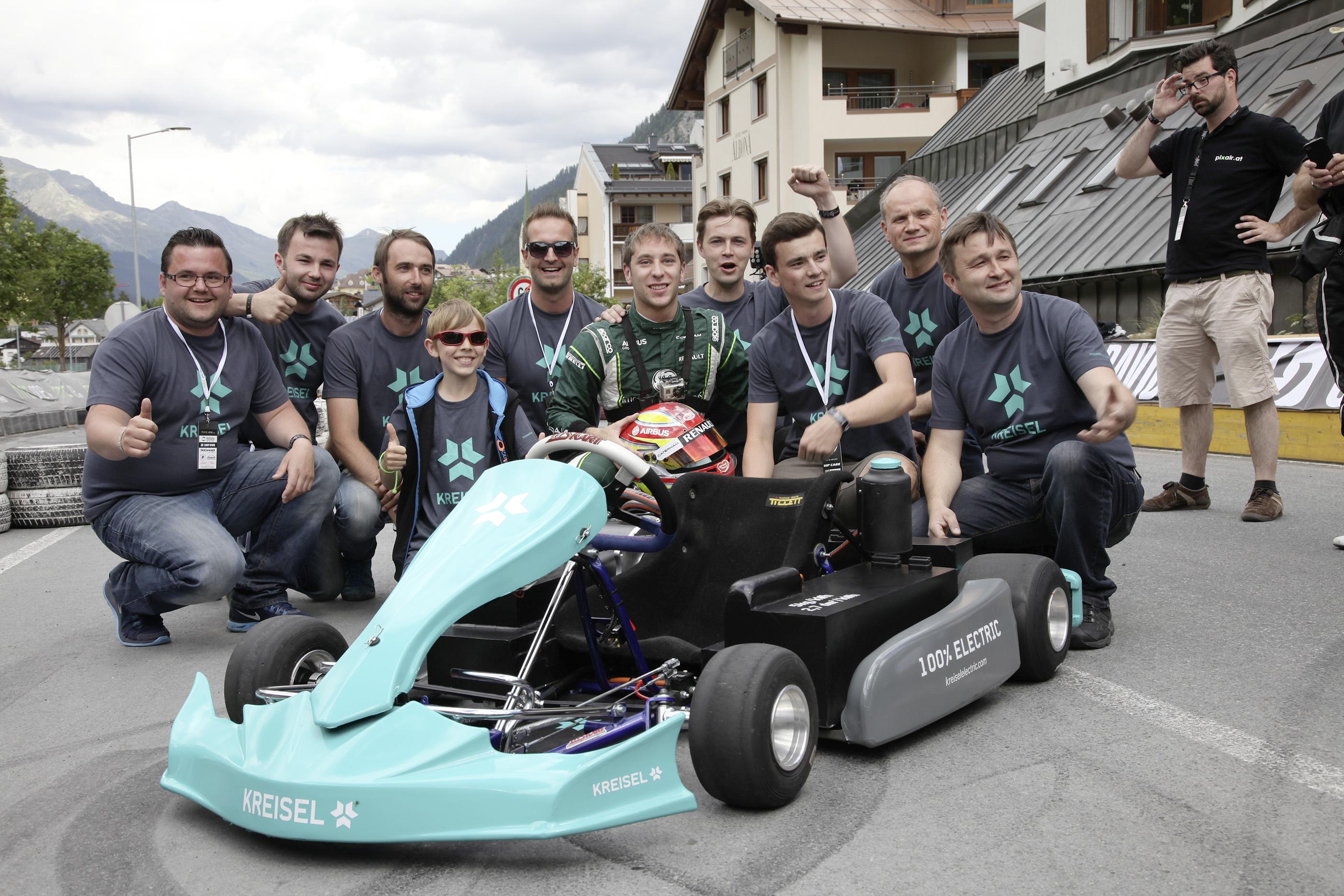 Elektro Go Kart Team Stellt Neuen Weltrekord Auf
