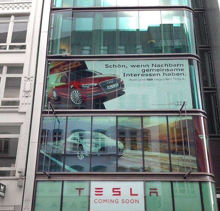 Bmw I3 Tesla Supercharger Adapter: Audi Begrüsst Tesla Motors In Der Nachbarschaft
