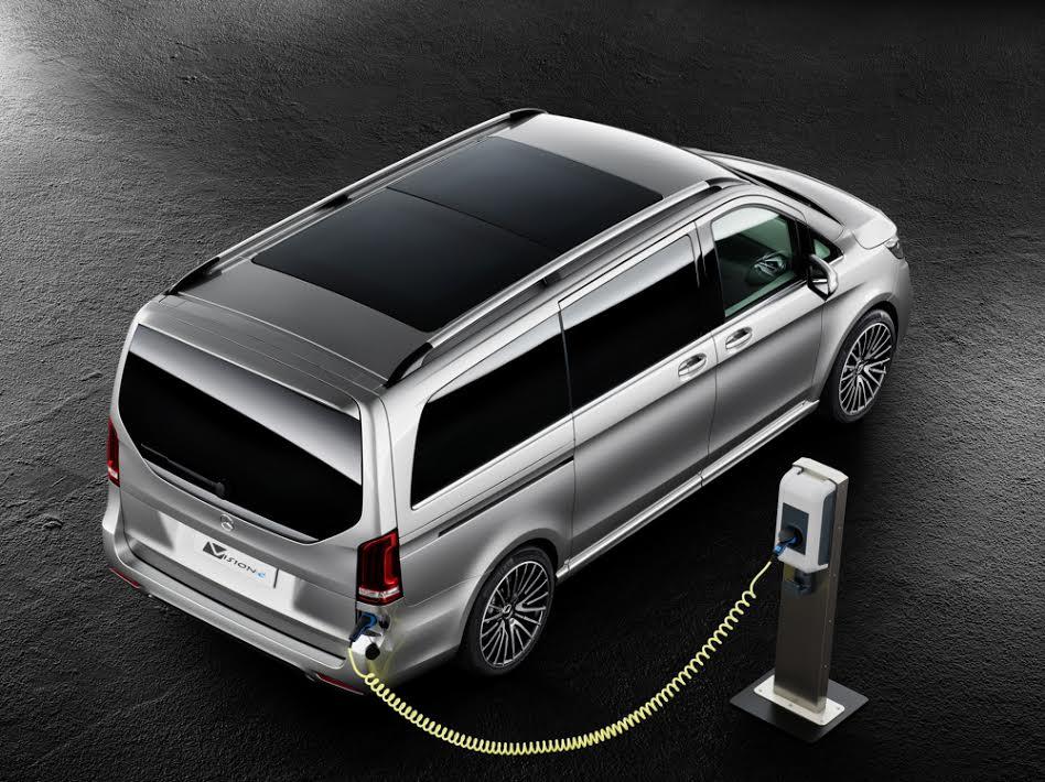 In Genf Wird Das Plug In Hybridauto Mercedes Benz Concept