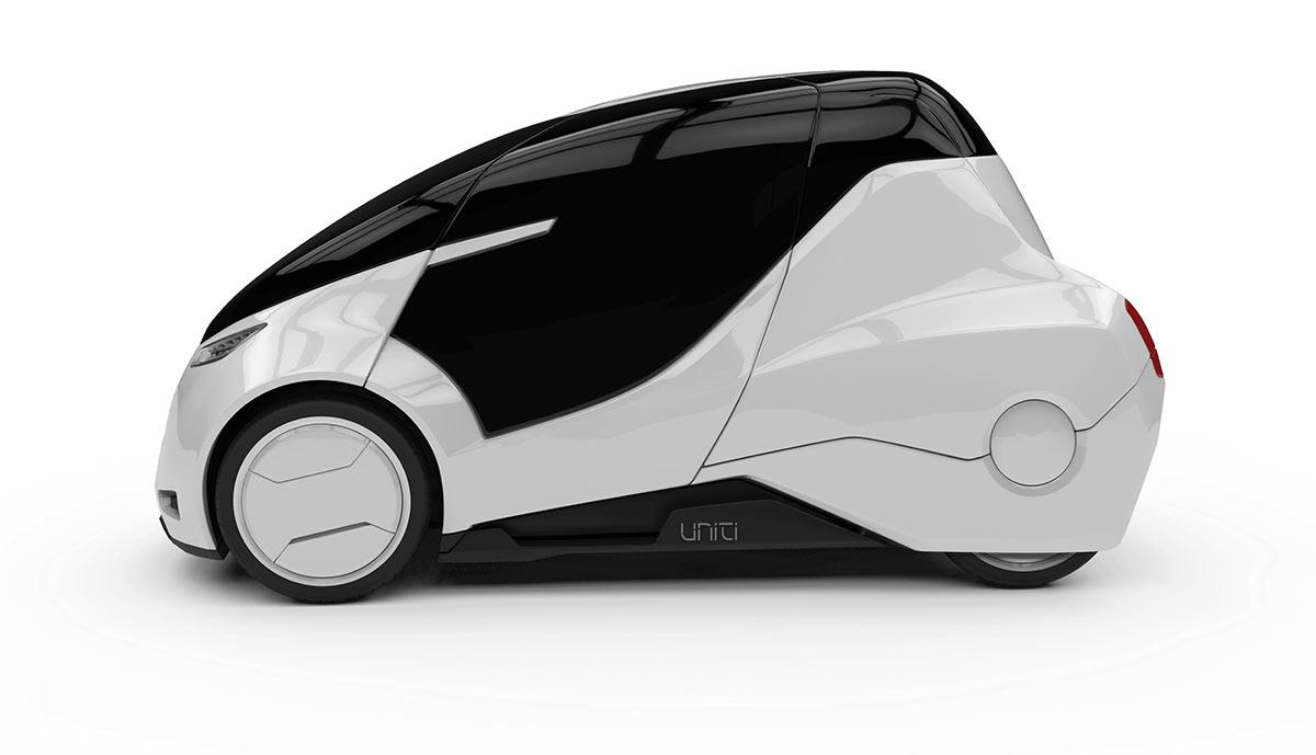 Schwedisches Elektroauto Uniti ist ein großer Crowdfunding-Erfolg