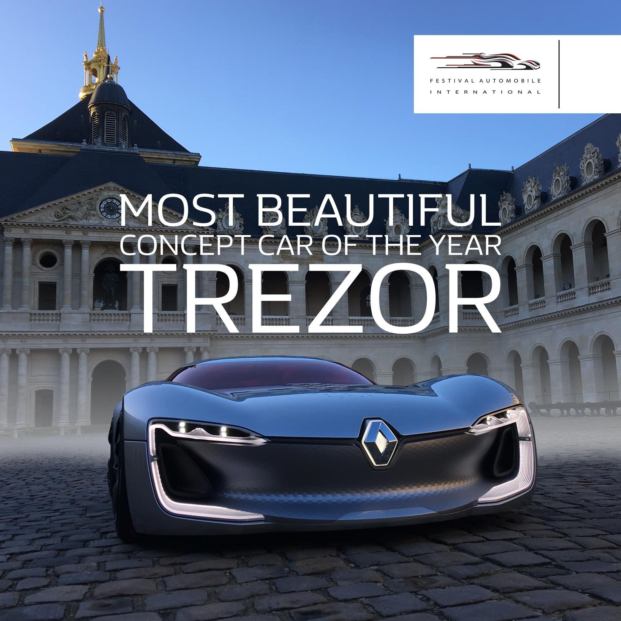 Elektroauto Renault Trezor hat die Auszeichnung schönstes ...