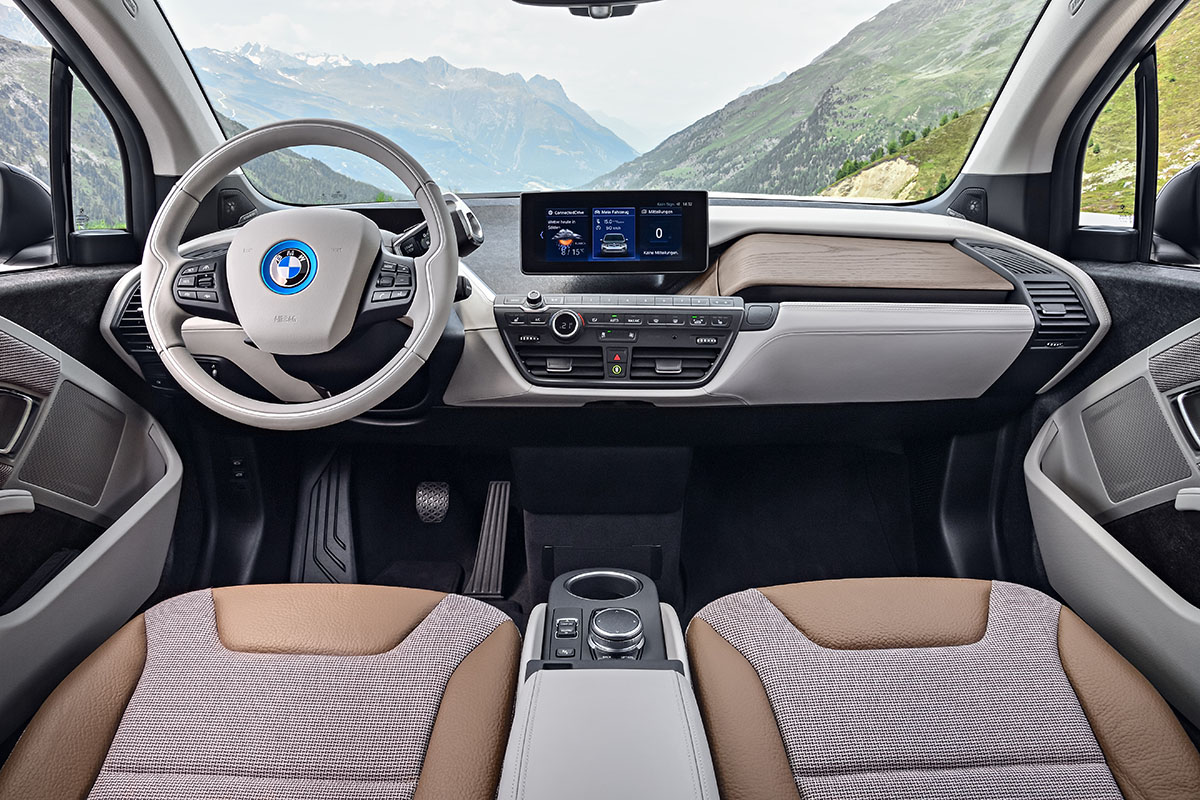 Elektroauto bmw i3 cockpit interieur mein elektroauto for Interieur i3