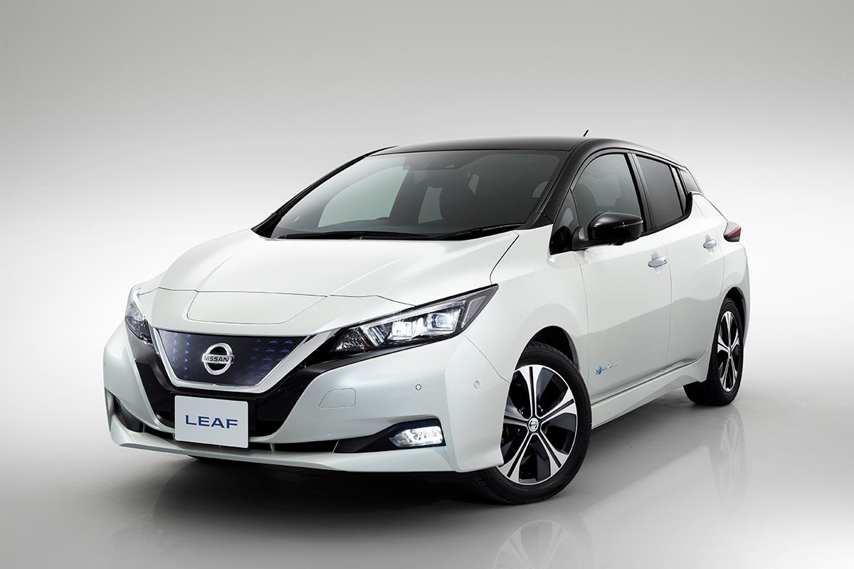 Elektroauto Nissan Leaf 2 Feiert In Oslo Seine Europapremiere