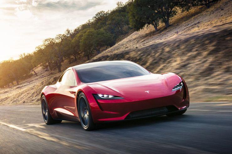 Elektroauto Tesla Roadster 2 verfügt über 960 Kilometer ...