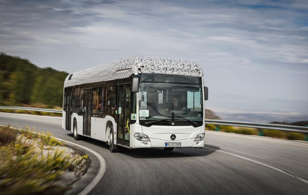Ende 2018 startet die Produktion des Elektrobus Mercedes ...