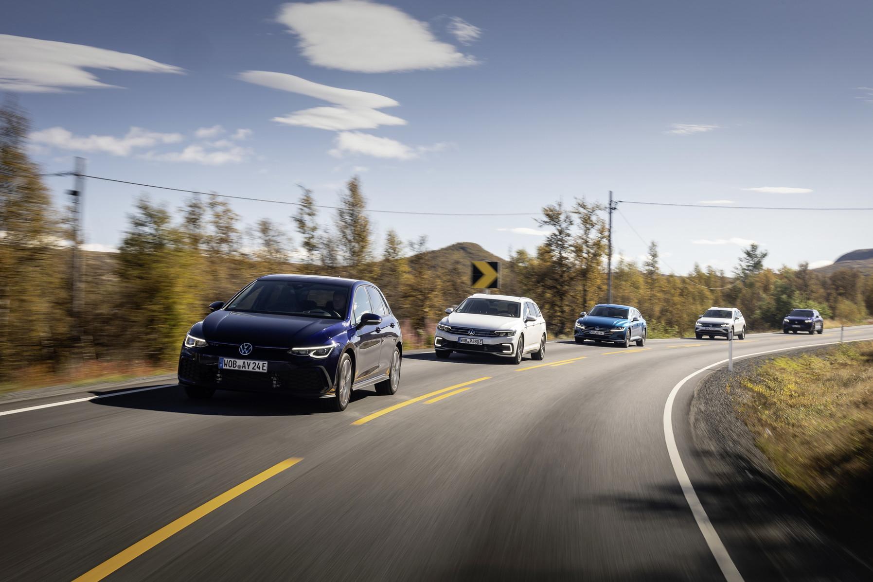 Die Plug-In Hybridautos von Volkswagen erfüllen auch die strengen Förderrichtlinien